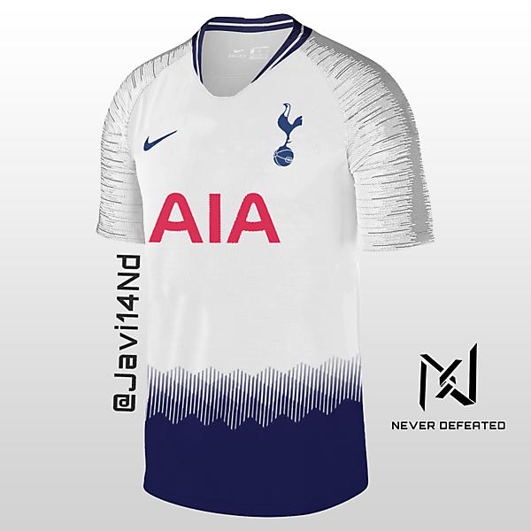 Tottenham Hotspur 18-19 Home Kit