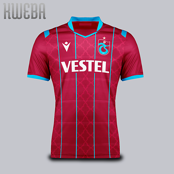 Trabzonspor - home kit