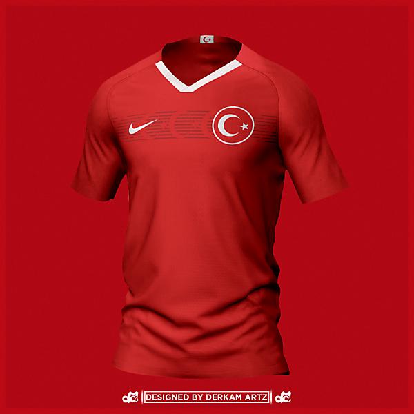 Turkey - EURO 2020 Home Kit