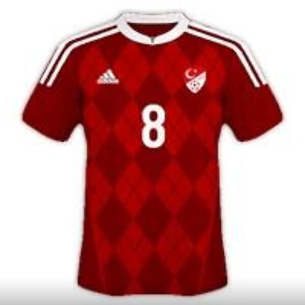 Turkey National Team Adidas Away Kit Design