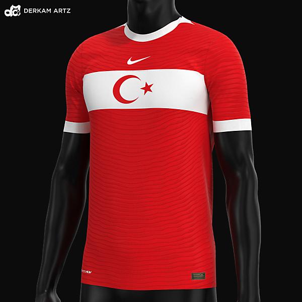 Turkey x Nike - Away Concept