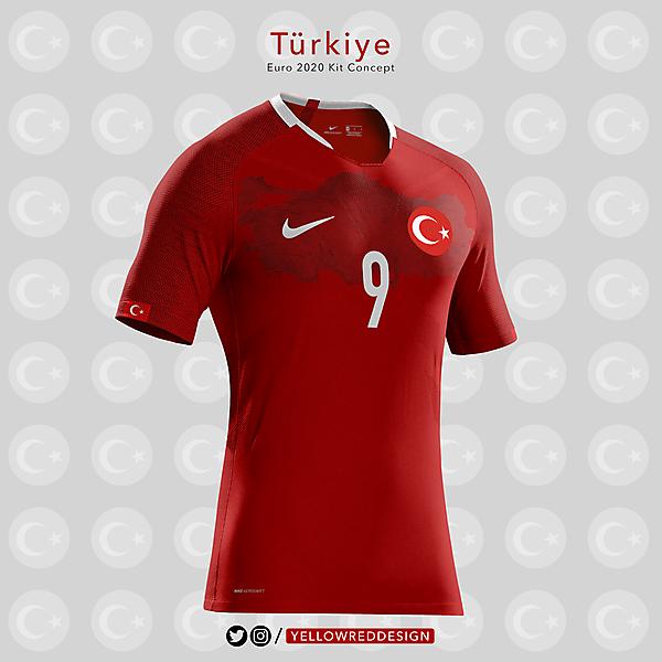 Turkiye Euro2020 Kit Design
