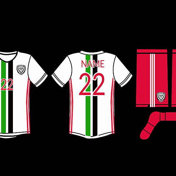 UAE football kit 2016