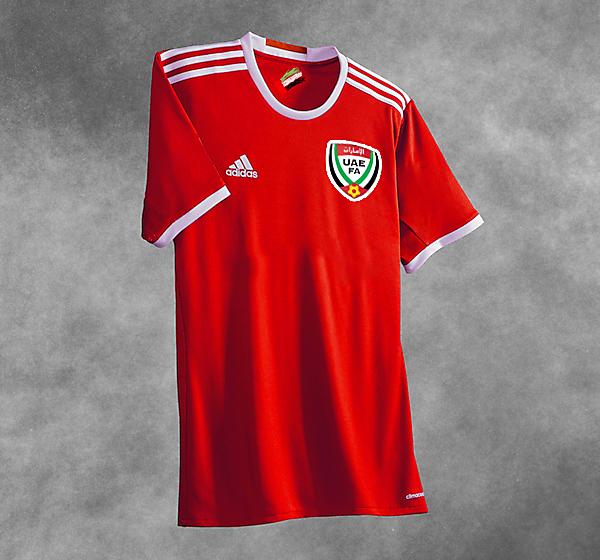UAE Football Kits Home 2017