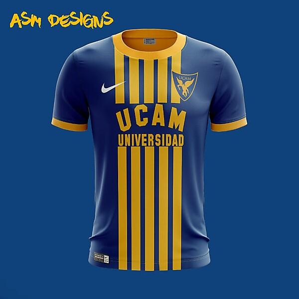 UCAM Murcia CF Nike 2018 Home Kit