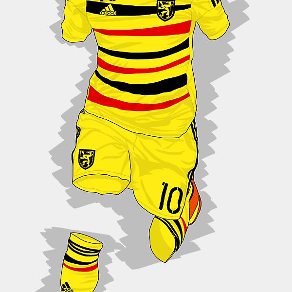 UEFA EURO 2016 - Belgium Away Kit