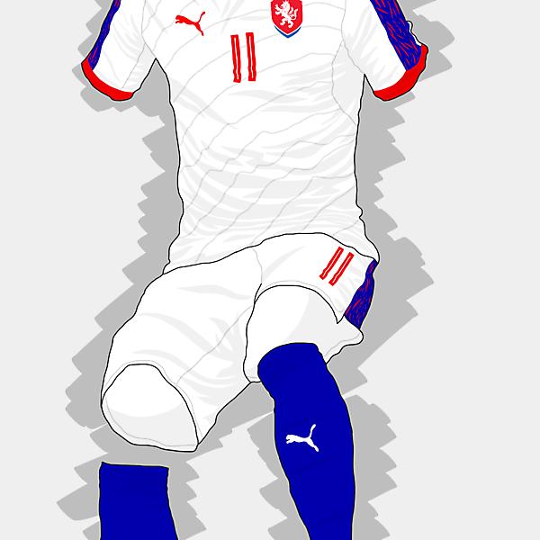 UEFA EURO 2016 - Czech Republic Away Kit