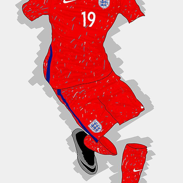 UEFA EURO 2016 - England Home Kit