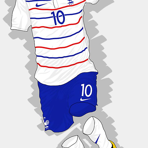 UEFA EURO 2016 - France Away Kit