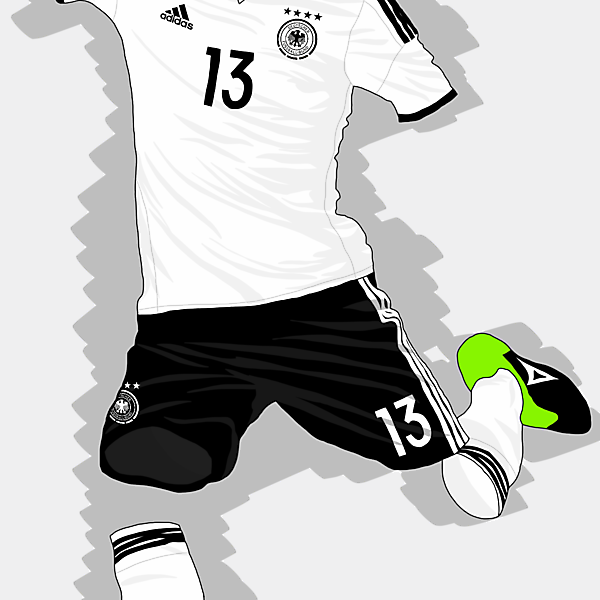 UEFA EURO 2016 - Germany Home Kit
