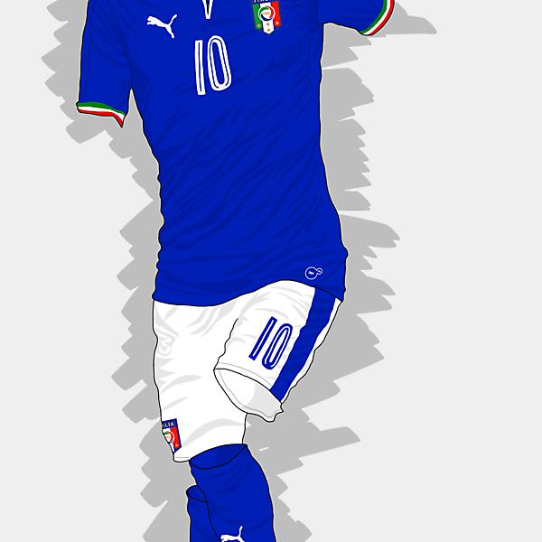 UEFA EURO 2016 - Italy Home Kit
