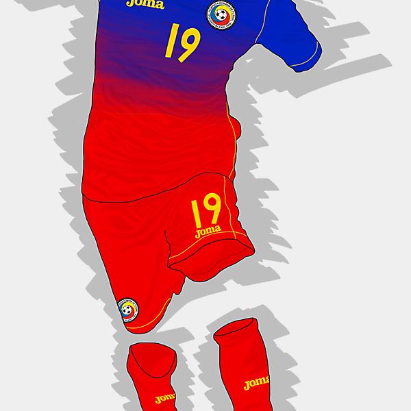 UEFA EURO 2016 - Romania Away Kit