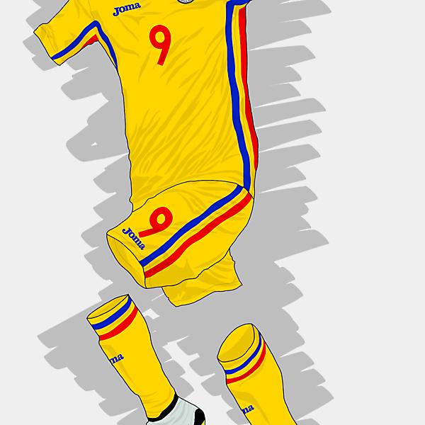 UEFA EURO 2016 - Romania Home Kit