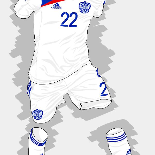 UEFA EURO 2016 - Russia Away Kit