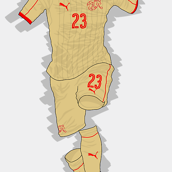 UEFA EURO 2016 - Switzerland Away Kit