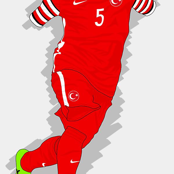 UEFA EURO 2016 - Turkey Home Kit