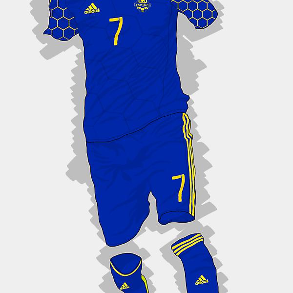 UEFA EURO 2016 - Ukraine Away Kit