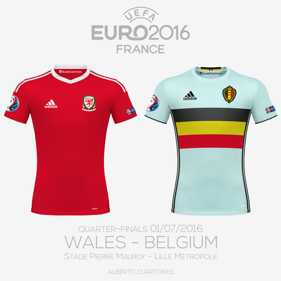 UEFA EURO 2016™ Quarter-Finals | Wales vs Belgium