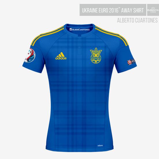 Ukraine UEFA EURO 2016™ Away Shirt
