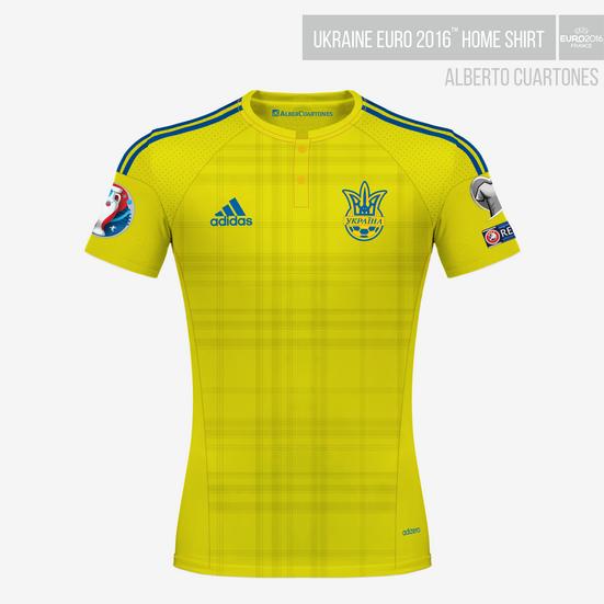 Ukraine UEFA EURO 2016™ Home Shirt