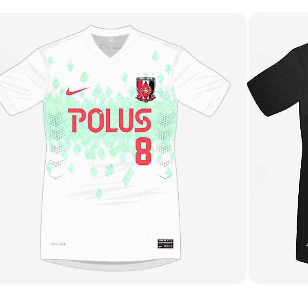 Urawa Red Diamonds 2014 Kits
