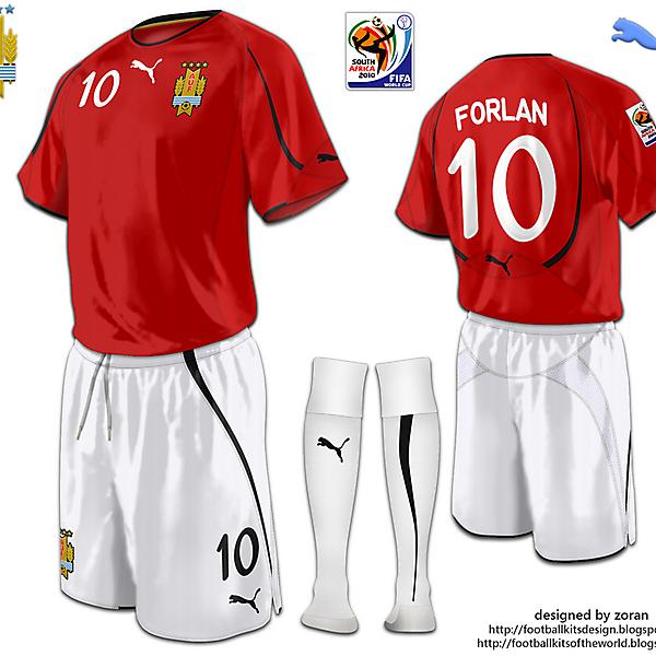 Uruguay World Cup 2010 fantasy away