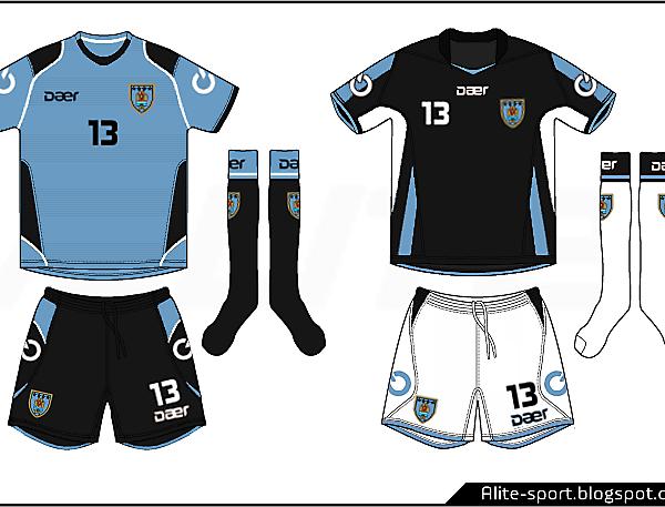 Uruguay Daer Home and Away Kits