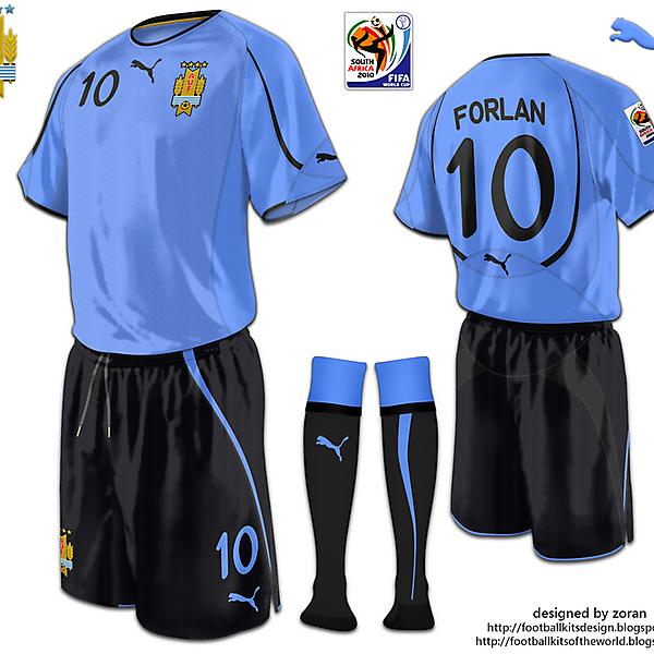 Uruguay World Cup 2010 fantasy home