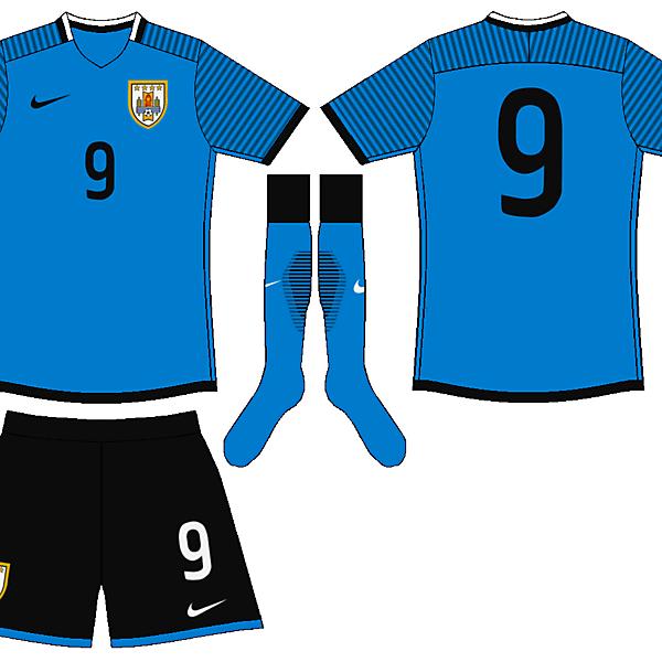 Uruguay Nike Mockup