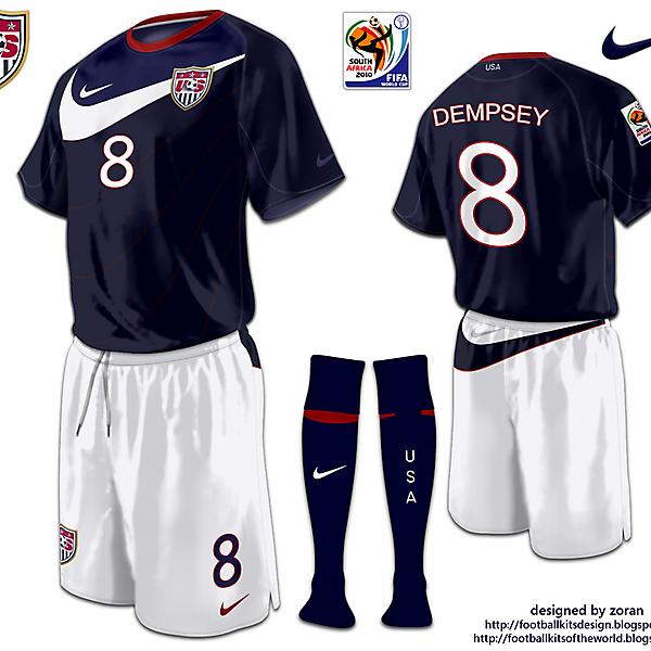 USA World Cup 2010 fantasy away