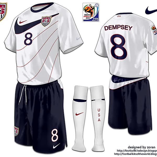 USA World Cup 2010 fantasy home