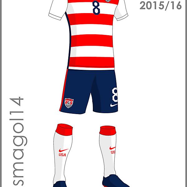 U.S.A. Home Kit 2015/16