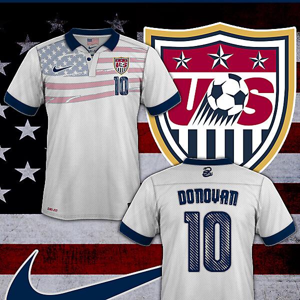 USA National Football Team New Home