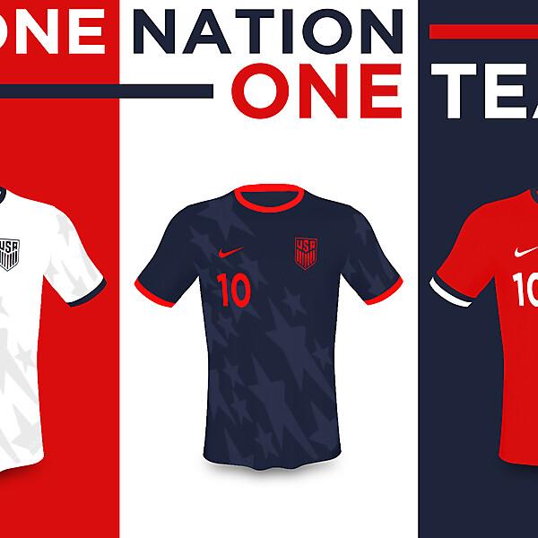 USA Nike 2019 Kits by Erwin Pérez