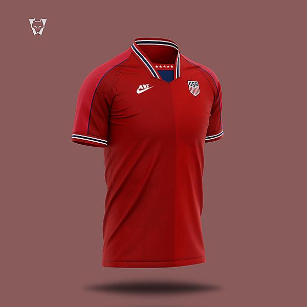 USA x Nike away kit