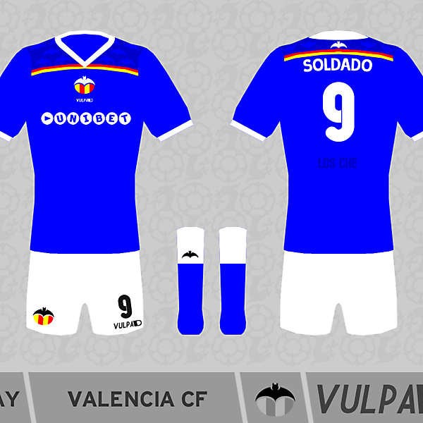Valencia Away Kit 2