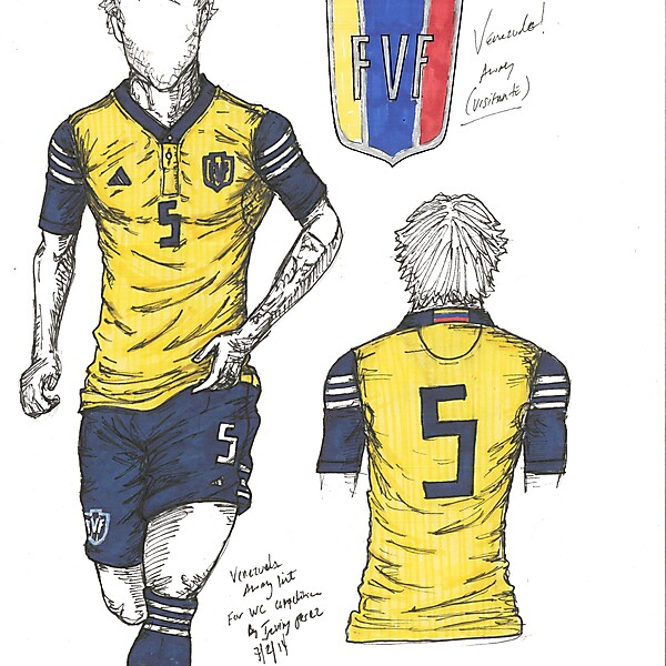 Venezuela - Away By Irvingperceni (Special Request - Not for comp)