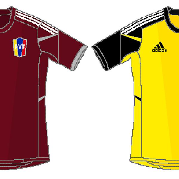 Venezuela Adidas Home and Away