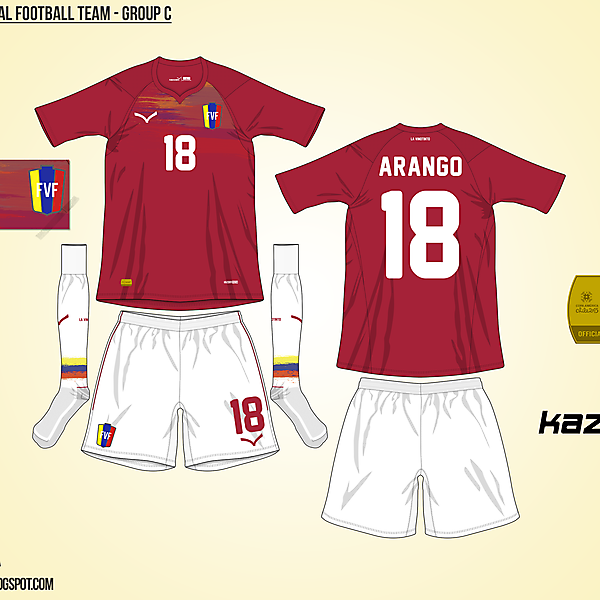 Venezuela Home - Group C, 2015 Copa América