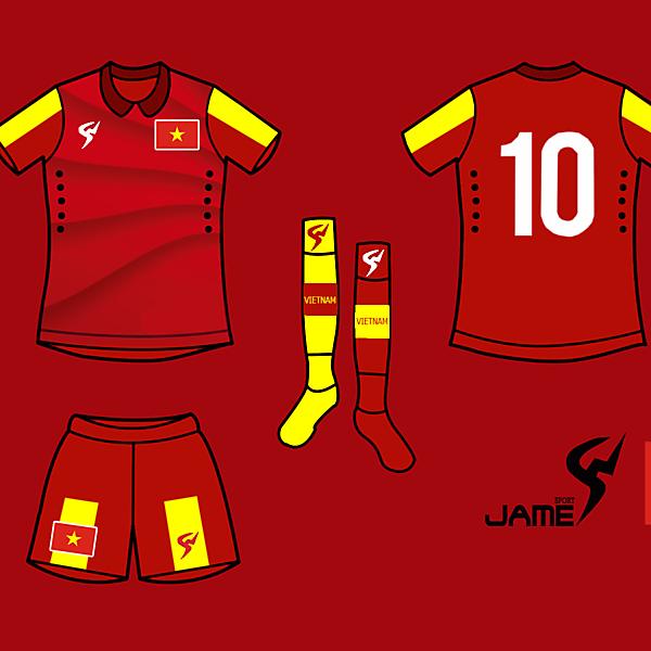 Vietnam Kits Home 2017