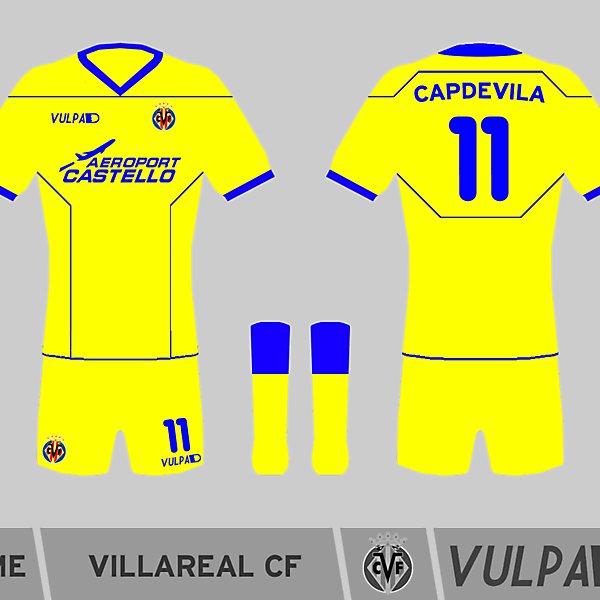 Villarreal Home Shirt