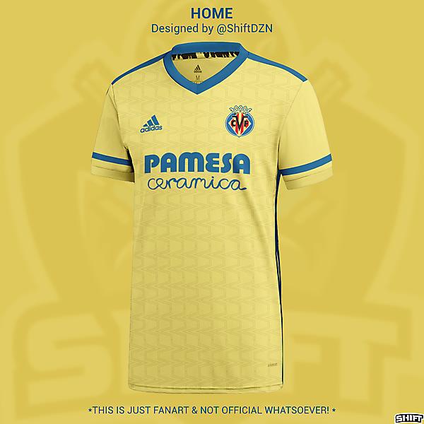 Villarreal X Adidas Home Jersey Concept