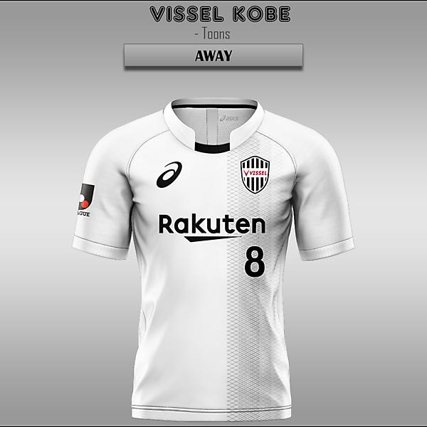 Vissel Kobe -- Home/Away/Third
