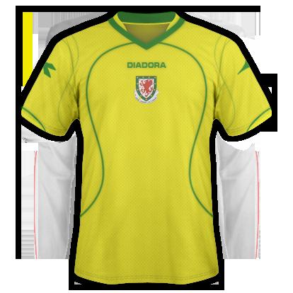 Wales Away Kit