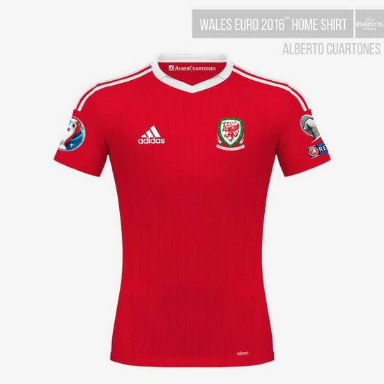 Wales UEFA EURO 2016™ Home Shirt