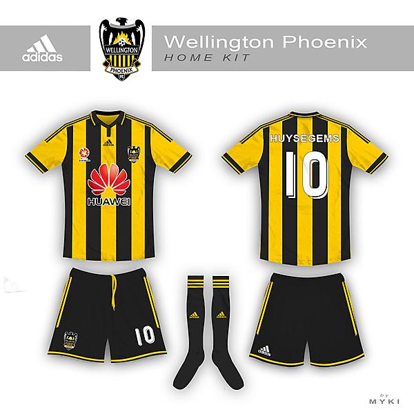 Wellington Phoenix Home Kit