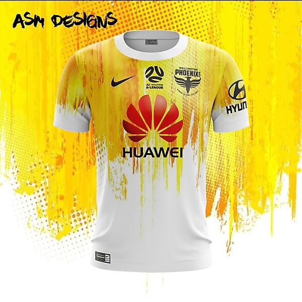 Wellington Phoenix Nike 2018 Away Kit