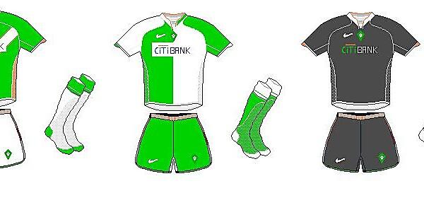 Werder Bremen Nike Kits