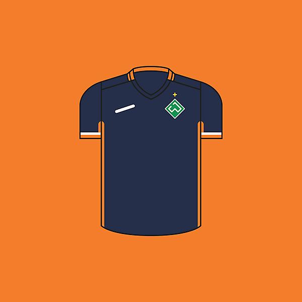 Werder Bremen Away × Minimalist