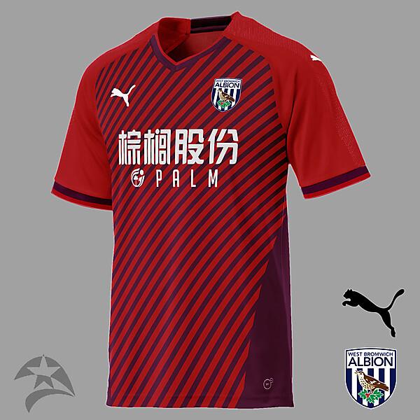 West Bromwich Albion Puma - third concept